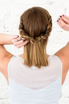 Use this step-by-step to create a beautiful updo.