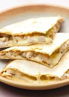 Aquí tienes varias recetas de quesadillas de pollo, para que puedas personalizar este gran clásico méxicano y prepararlo siempre a tu gusto.