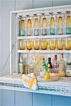 Sneak Peek: Hanging Patio Bar - Today's Nest