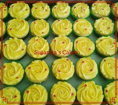 Cupcakes para una fiesta con el tema Libro de la Vida!...#fiesta #cupcakes #ponquesitos #bookoflife #librodelavida #buttercream #decoratedcupcakes #susanitascakes #talentovenezolano