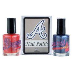 Atlanta Braves Two-Pack Team Colored Nail Polish