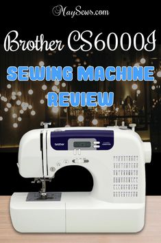 If you are interested in the Brother sewing machine then you might want to read this read. Brother Cs6000i Sewing Machine, Brother Sewing Machines, Sewing Machine Reviews, Flat Shapes, Easter Crafts For Kids, Crochet Patterns For Beginners, Janome, Cool Things To Buy, Stuff To Buy