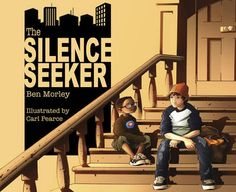 The Silence Seeker by Ben Morley. Themes: society, integration, inclusion. Age: 7+ Description: When a new family moves in next door, Joe's mum explains that they are asylum seekers. Joe hears that they are silence seekers, especially as Mum adds that they need peace and quiet. When he sees a young boy from the family sitting disconsolately on the steps, Joe decides to help him find a quiet place in the noisy and chaotic city.