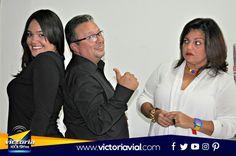 Algo bueno viene en www.victoriavial.com y Amira Muci Castillo, Felix Armando Peña Gato y Luisa Andrea Cisneros son parte de ello. ¡Muy Pronto! #Victoria1039FM, ahora y siempre somos #TuRadioVialInformativa.