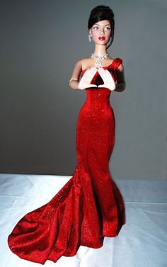 DAZZLING IN RED  New African American Doll Company Launches Collectible Sorority Doll ...
