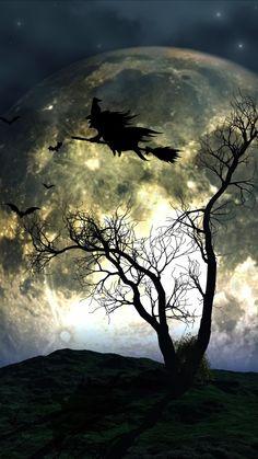 Halloween Eve, Samhain Halloween, Halloween Artwork, Halloween Village, Halloween Pictures, Halloween Wallpaper, Holidays Halloween, Halloween Ideas, Cool Backgrounds Wallpapers