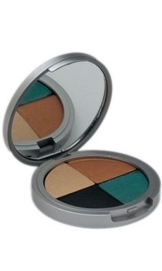 The Organic Face 100% All Natural Quad Eye Shadows, Shabby Chic * Visit the image link more details.