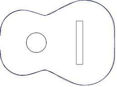 Image result for acoustic guitar cake template