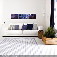 Aufgemalter Teppich