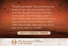 Sue Monk Kidd quote from The Invention of Wings Best Books Of 2014, Latest Books, The Invention Of Wings, Quotes From Novels, Leather Books, Day Of My Life, Black History, Inventions, Good Books