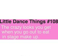 Or Little Actor things after you preform Footloose in crazy 80's stage make up and ridiculously volumized hair.