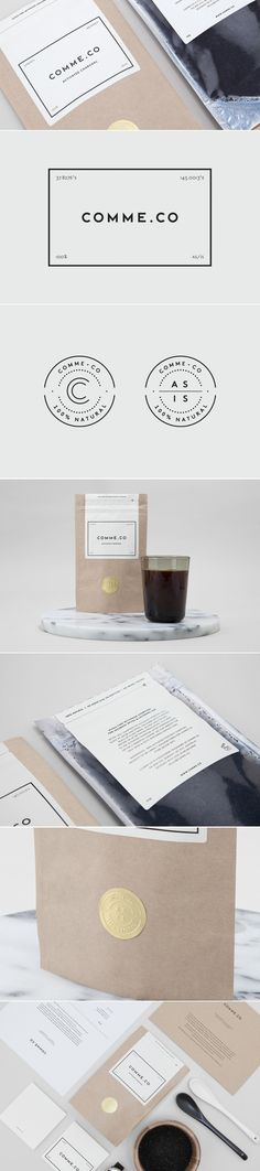 Comme.Co — The Dieline - Branding & Packaging Design