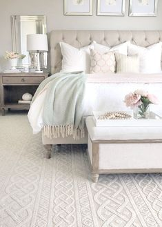 bedroom decor for couples \ bedroom decor ; bedroom decor for couples ; bedroom decor for small rooms ; bedroom decor ideas for women ; bedroom decor ideas for couples Romantic Bedroom Decor, Cozy Bedroom, Home Decor Bedroom, Modern Bedroom, Bedroom Rustic, Bedroom Black, Bedroom Themes, Master Bedroom Furniture Ideas, Neutral Bedrooms
