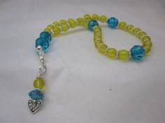 Anglican/Protestant Prayer Beads Glass Rosary by 1Bead1Prayer $12.50+shipping