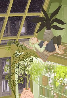 Image uploaded by wild beautiful pony. Find images and videos about illustration, rain and plants on We Heart It - the app to get lost in what you love. Art And Illustration, Illustrations, Poster Print, Aesthetic Art, Aesthetic Drawings, Aesthetic Pastel, Oeuvre D'art, Cute Art, Art Inspo