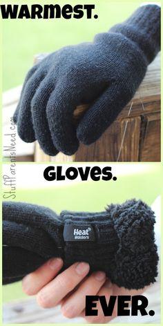 Heat Holders: warmest gloves ever!!!