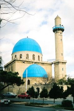 """Blue"" Mosque at Baku, Azerbaijan"