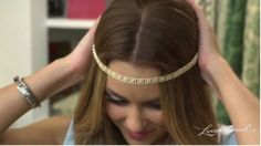 DIY Headband by Lauren Conrad - Crafty Creations Diy Headband, Headbands, Headband Tutorial, Diy Hairstyles, Pretty Hairstyles, Diy Hair Accessories, Diy Clothing, Hair Dos, Lauren Conrad