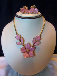 A personal favorite from my Etsy shop https://www.etsy.com/listing/484925421/trifari-choker-necklace-vintage-pink