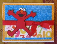 Sesame Street Friends Cricut Cartridge - Pam Cuts......