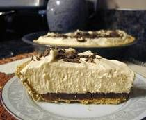 peanut butter sillk pie, probably no match to market street diner but i'll have to see