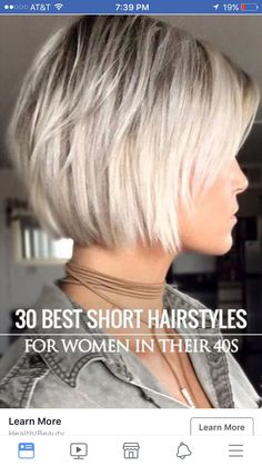 Haarcapsule 2019 Trendfrisuren Frank, akkurater Mittelscheitel oder France Cut Kick the bucket Frisurentrends 2020 Short Thin Hair, Short Hair With Layers, Short Hair Cuts For Women, Best Short Hair, Short Blonde Bobs, Layered Bob Short, Layered Bobs, Medium Hair Styles, Short Hair Styles