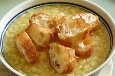 How to cook Tau Suan (Mung Beans Dessert) ~ Singapore Food   Recipes