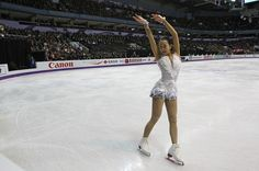 LONDON, CANADA - MARCH 16:  Mao Asada of Japan skates in the Ladies Free Skating Program during the 2013 ISU World Figure Skating Championships at Budweiser Gardens on March 16, 2013 in London, Ontario, Canada.