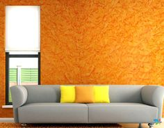 58 Perfect Textured Walls Design Ideas For Your Living Room 6 - homydezign Interior Wall Colors, Room Wall Colors, Exterior Paint Colors For House, Bedroom Colors, Interior Painting, Wall Exterior, Wall Colours, Blue Bedroom, Paint Colours