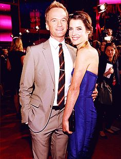 Cobie Smulders and Neil Patrick Harris!