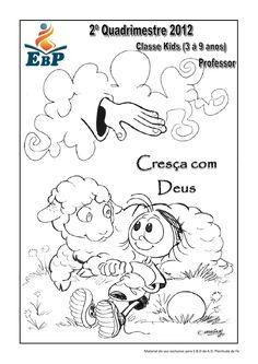 Apostila   ebd - classe kids - professor - cresça com deus - 2º quadrimestre
