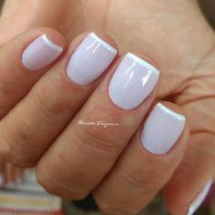 Dicas para fazer unhas francesinhas perfeitas Toe Nails, Finger, Make Up, Polish, Nail Art, Beauty, Lip Gloss, Amanda, Minnie Mouse