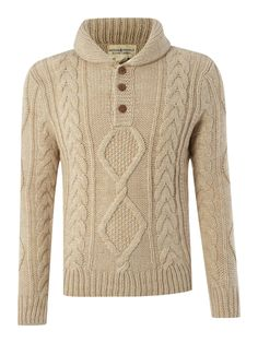 Denim and Supply Ralph Lauren Three button neck knitwear