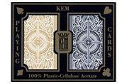 Kem Arrow Black/Gold Playing Cards Poker Size Standard Index. #Kem #Playingcards #Poker
