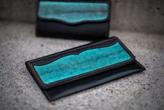 10 years guarantee! Unique and perfect high quality handmade item. I only use high quality leather and create everything till the last stitch by hand on my own.  This blue rajah leather wallet is a perfect gift idea for every women.  Find even more exclusive gift ideas in my shop!   #wallets #perfectwallet #menwallet #personalizedleatherwallet #leatherwallet #menswallet #clutches #bettertogether wallet