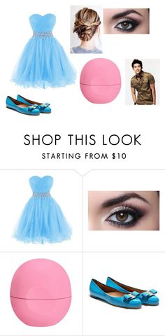 """""""Date 2 with 2pms  Taecyeon"""" by starfire-1 on Polyvore featuring Eos, Salvatore Ferragamo and CO"""
