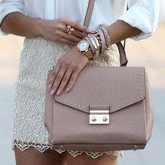 Daily accessories inspo! #fashion #style #fashionista #watch #bag