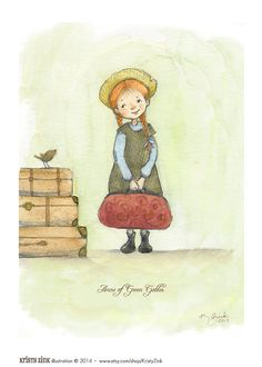 Anne of Green Gables Wall Art Now available in by KristyZink