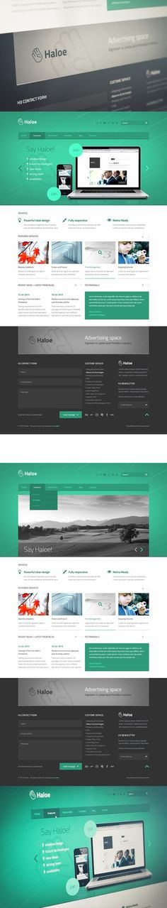 #web #template