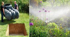 Smart avlopp: Använd regnvatten till tvätt, toalett & trädgård | Land.se Land, House, Home, Haus, Houses