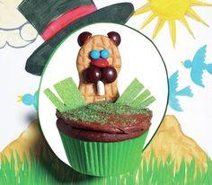 Punxsutawney Phil Cupcake