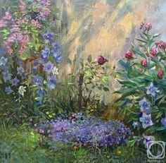 Loukianov Victor. In a garden
