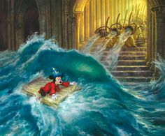 Lost in the Magic - by Donato Giancola giclee on canvas