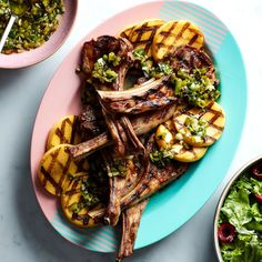A Lamb Chop Dinner That Only Takes 10 Minutes on the Grill
