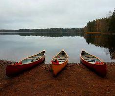 Liesjärven kansallispuisto Finland, Landscapes, Boat, Nature, Paisajes, Scenery, Dinghy, Naturaleza, Boats