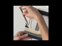 Tapestry Weaving in Three Minutes - Schacht School Loom - YouTube