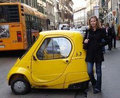 Yellow Micro Car | You Drive Faro Car Hire - www.you-drive.cc