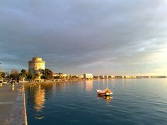 Thessaloniki-White-Tower in Athens,  Greece
