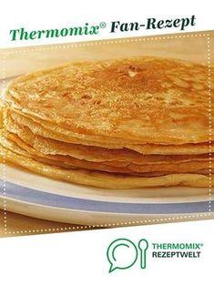Basic pancake recipe-Grundrezept Pfannkuchen Basic recipe pancakes from kersi. A Thermomix ® recipe from the category other main dishes www.de, the Thermomix ® community. Fluffy Pancake Mix Recipe, Pancake Recipe With Yogurt, Best Pancake Recipe, Clean Eating Pancakes, Cake Vegan, Banana Pudding Recipes, Thermomix Desserts, Thermomix Pancakes, Food