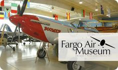 Take the family to learn about aviation and tour one of the Fargo Air Museum's awe-inspiring exhibits with today's Daily Deal: $15 Family Day Pass ($36 Value)!  Offer expires on 7/28/13 at midnight!
